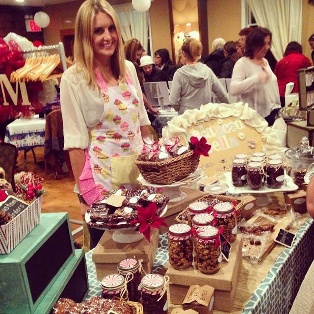 Last Thursday night at the Belle Harbor Yacht Club's Holiday Boutique <3