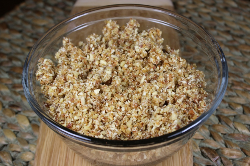 Date, Almond, and Walnut Mixture