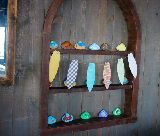 All of the painted shells were done by the talented and adorably cute Justin!